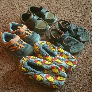 Other - 4T boy shoes-multiple size lot